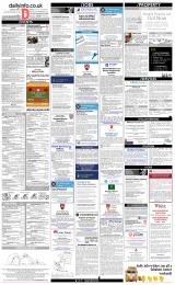 Daily Info printed sheet Fri 30/3 2018