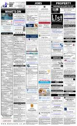 Daily Info printed sheet Fri 16/1 2015