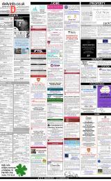 Daily Info printed sheet Fri 15/3 2019