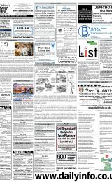 Daily Info printed sheet Tue 27/1 2009