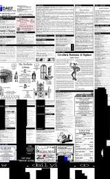 Daily Info printed sheet Tue 13/2 2001