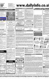 Daily Info printed sheet Thu 12/2 2004