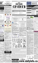 Daily Info printed sheet Tue 31/1 2006
