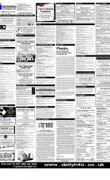 Daily Info printed sheet Sat 3/2 2001