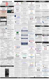 Daily Info printed sheet Fri 11/1 2019