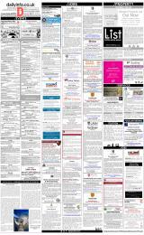 Daily Info printed sheet Fri 19/1 2018