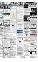 Daily Info printed sheet Thu 8/3 2012