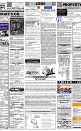 Daily Info printed sheet Sat 22/1 2011