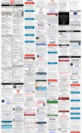 Daily Info printed sheet Fri 8/3 2019