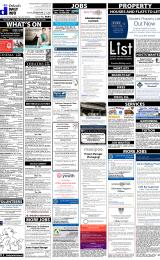 Daily Info printed sheet Tue 16/2 2016