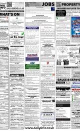 Daily Info printed sheet Sat 18/2 2012