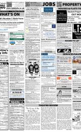 Daily Info printed sheet Thu 2/2 2012