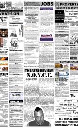 Daily Info printed sheet Fri 2/3 2012