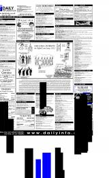 Daily Info printed sheet Thu 18/1 2001