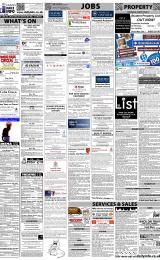 Daily Info printed sheet Fri 13/1 2012