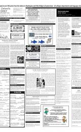 Daily Info printed sheet Thu 24/1 2002