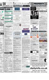 Daily Info printed sheet Thu 23/2 2012