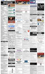 Daily Info printed sheet Tue 25/2 2014