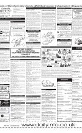 Daily Info printed sheet Sat 12/1 2002