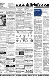 Daily Info printed sheet Thu 22/1 2004