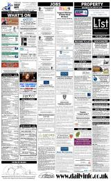 Daily Info printed sheet Tue 18/2 2014