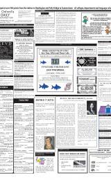 Daily Info printed sheet Fri 25/1 2002