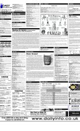Daily Info printed sheet Thu 1/6 2000