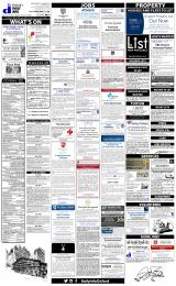Daily Info printed sheet Fri 22/1 2016