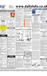 Daily Info printed sheet Thu 26/2 2004