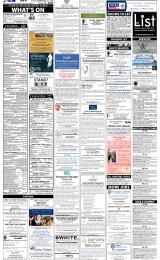 Daily Info printed sheet Fri 28/2 2014