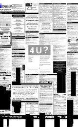 Daily Info printed sheet Sat 27/1 2001