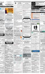 Daily Info printed sheet Sat 23/2 2008