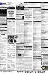 Daily Info printed sheet Fri 26/5 2000