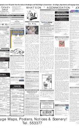 Daily Info printed sheet Wed 26/2 2003