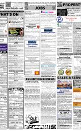 Daily Info printed sheet Sat 29/1 2011