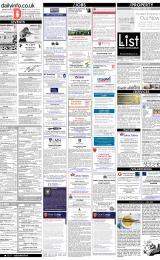 Daily Info printed sheet Fri 26/1 2018