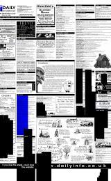 Daily Info printed sheet Fri 12/1 2001