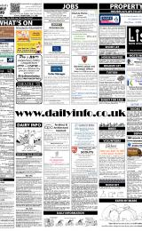 Daily Info printed sheet Tue 28/1 2014