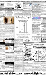 Daily Info printed sheet Wed 5/2 2003