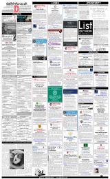 Daily Info printed sheet Fri 18/1 2019