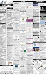 Daily Info printed sheet Fri 14/2 2014