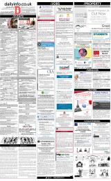 Daily Info printed sheet Tue 13/3 2018