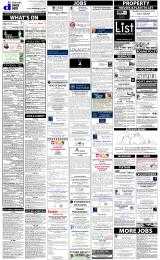 Daily Info printed sheet Fri 27/2 2015