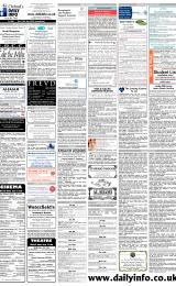 Daily Info printed sheet Fri 6/1 2006