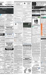 Daily Info printed sheet Sat 19/1 2008