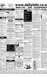 Daily Info printed sheet Fri 9/1 2004