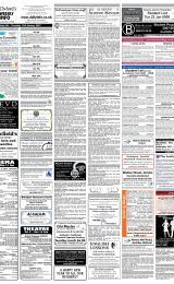 Daily Info printed sheet Fri 5/1 2007