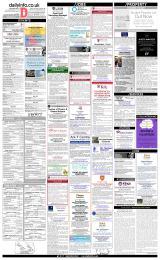 Daily Info printed sheet Fri 22/3 2019