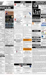 Daily Info printed sheet Tue 27/1 2015
