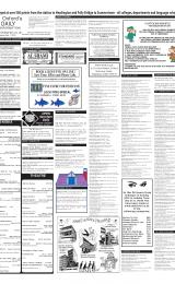 Daily Info printed sheet Wed 23/1 2002